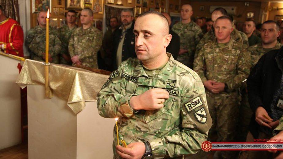 ავღანეთში ქართველმა სამხედროებმა ქრისტეს შობის დღესასწაული აღნიშნეს