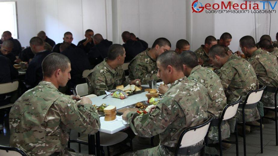 ქართულ ჯარში ქართული წარმოების საქონლის ხორცს უკრაინული ჩაანაცვლებს