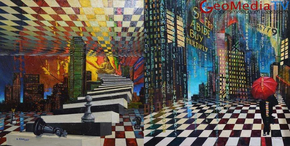 ჩინელი მხატვარი, რომელმაც საქართველოს 1000000 ლარზე მეტი ღირებულების 24 ფერწერული ტილო აჩუქა