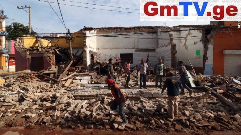 მექსიკაში დამანგრეველმა მიწისძვრამ, ბოლო მონაცემებით, 248 ადამიანის სიცოცხლე იმსხვერპლა