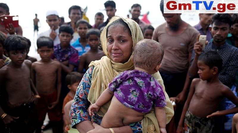 100 ათას როჰინჯა მუსლიმს უკაცრიელ კუნძულზე გადაასახლებენ