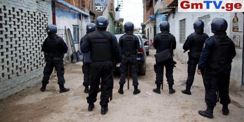 არგენტინაში ფეხბურთელებს პოლიციამ რეზინის ტყვიები ესროლა