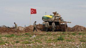თურქეთმა სირიაში ტანკები შეიყვანა
