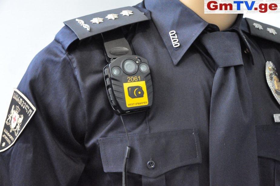 პოლიციელებისთვის ახალი სამხრე კამერების შეძენა იგეგმება