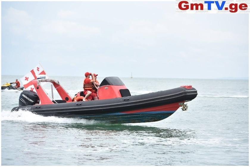 საგანგებო სიტუაციების სამსახური მოქალაქეებს ზღვაში უსაფრთხოების წესების დაცვისკენ მოუწოდებს