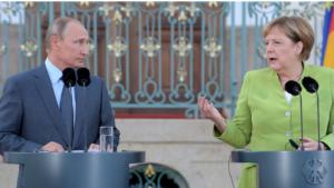 რუსეთის პრეზიდენტისა და გერმანიის კანცლერის შეხვედრამ 3 საათს გასტანა