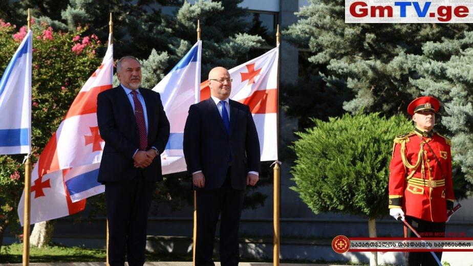 ისრაელის თავდაცვის მინისტრის პირველი ვიზიტი საქართველოში