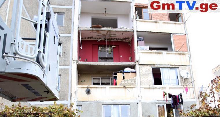 დაზარალებული 28 ოჯახი დროებით საცხოვრებლებში დღესვე დაბინავდება