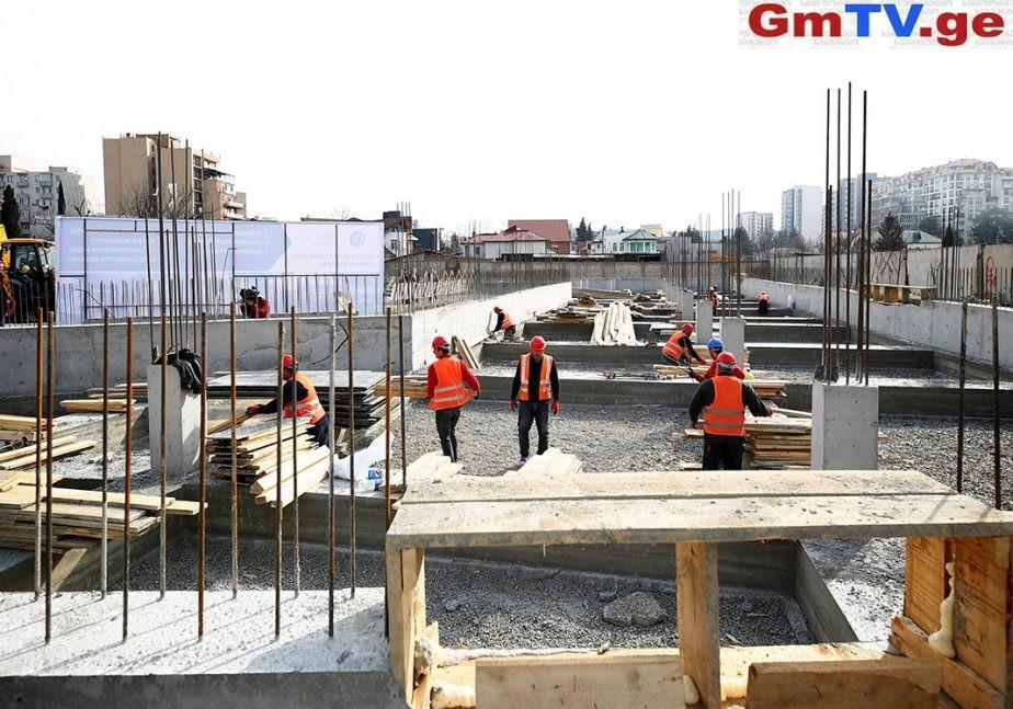 დიდუბის რაიონში კიდევ ერთი საბავშვო ბაგა-ბაღის მშენებლობა დაიწყო