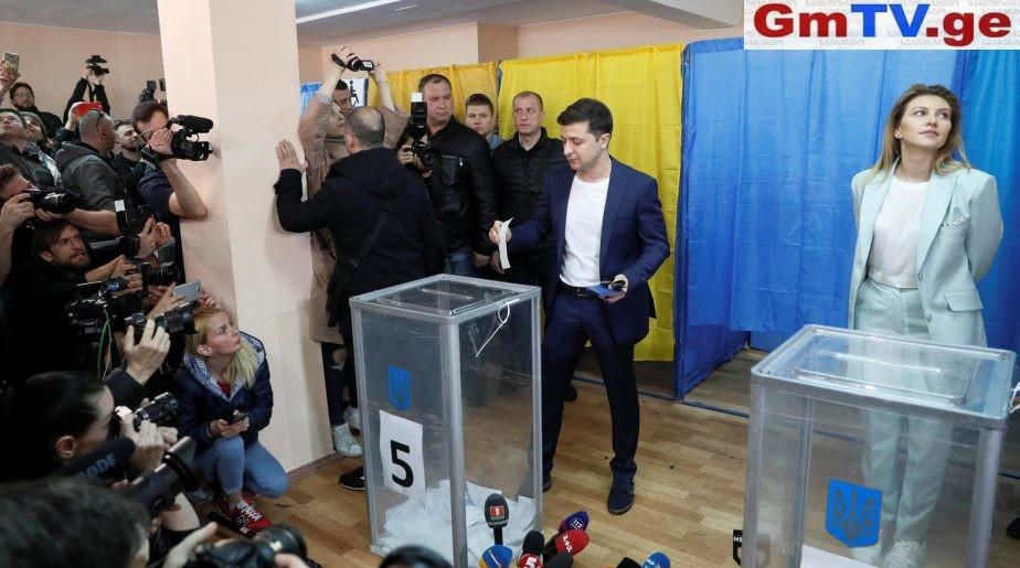 72,7%, – 27,3% – უკრაინაში არჩევნები დასრულდა