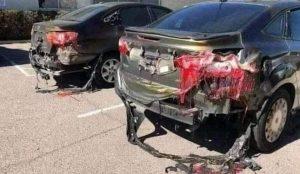 არაბეთში მაღალმა სიცხემ ავტომანქანები დაადნო
